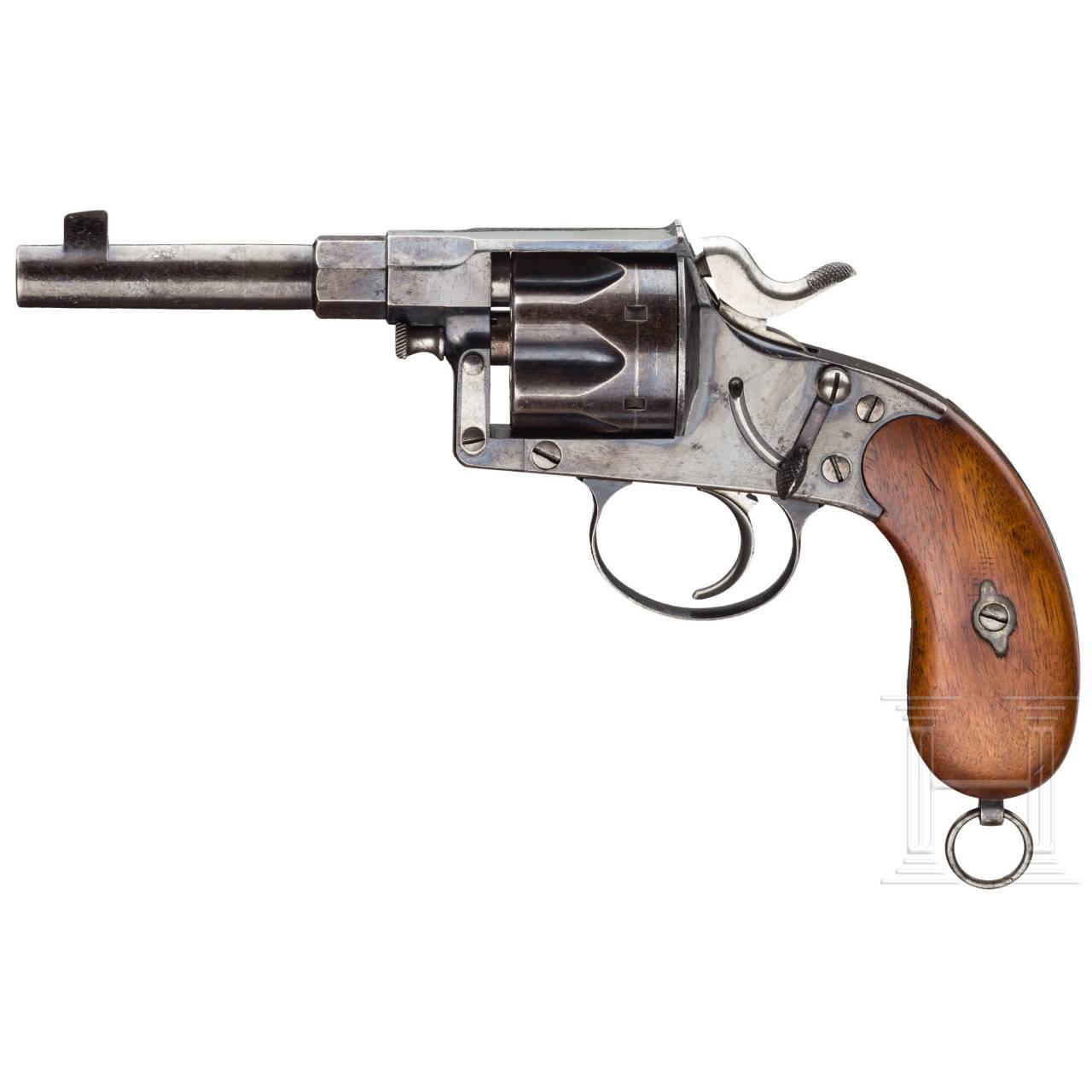 Reichsrevolver Mod. 1883, Muster oder Versuch der Königlich Preußischen Inspektion der Gewehrfabrik