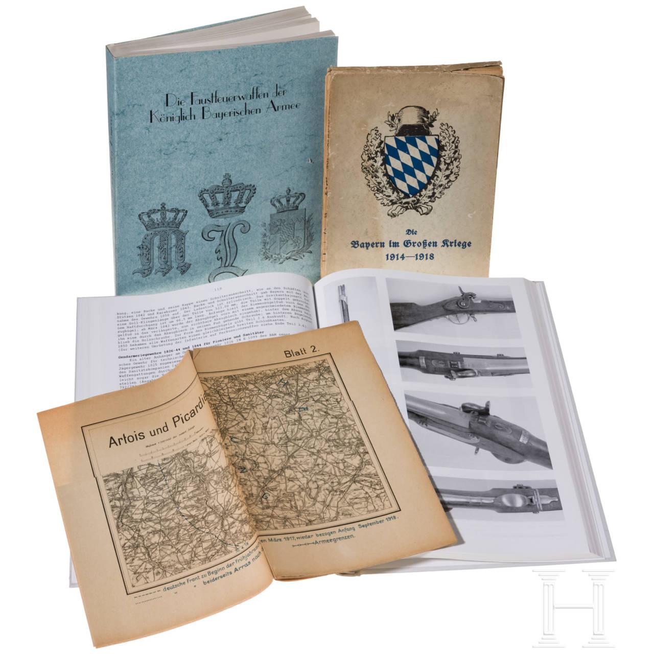 Three Bavarian military books