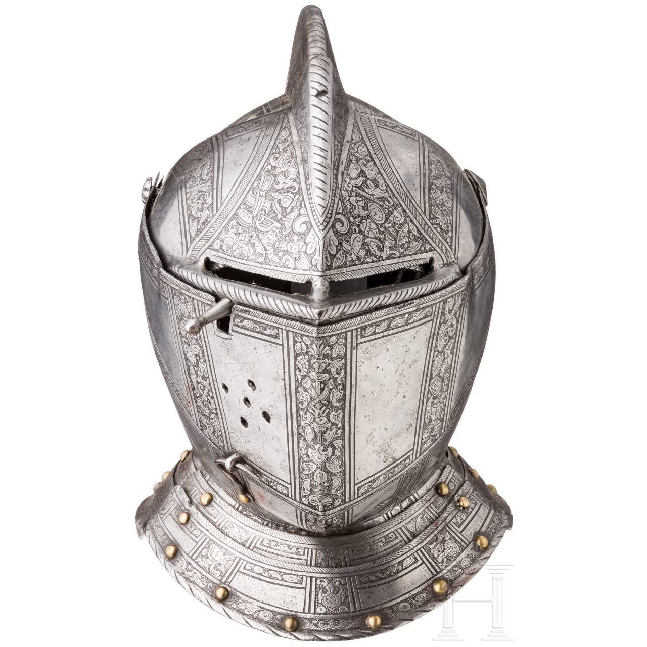 A Milanese etched armour for the field, circa 1570/80