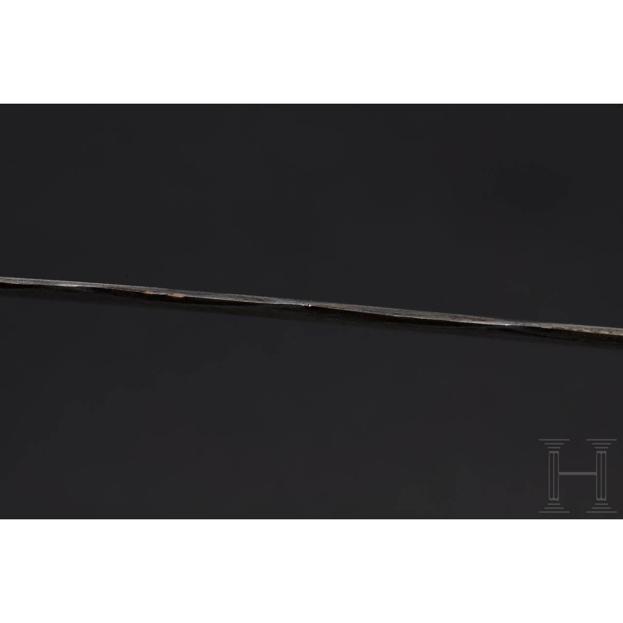 A large South German two-hand flamberge, circa 1580