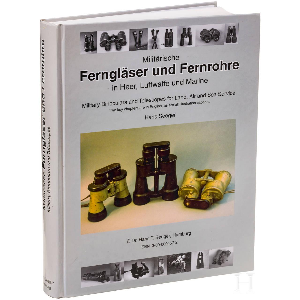 """A book by Seeger, """"Militärische Ferngläser und Fernrohre"""""""