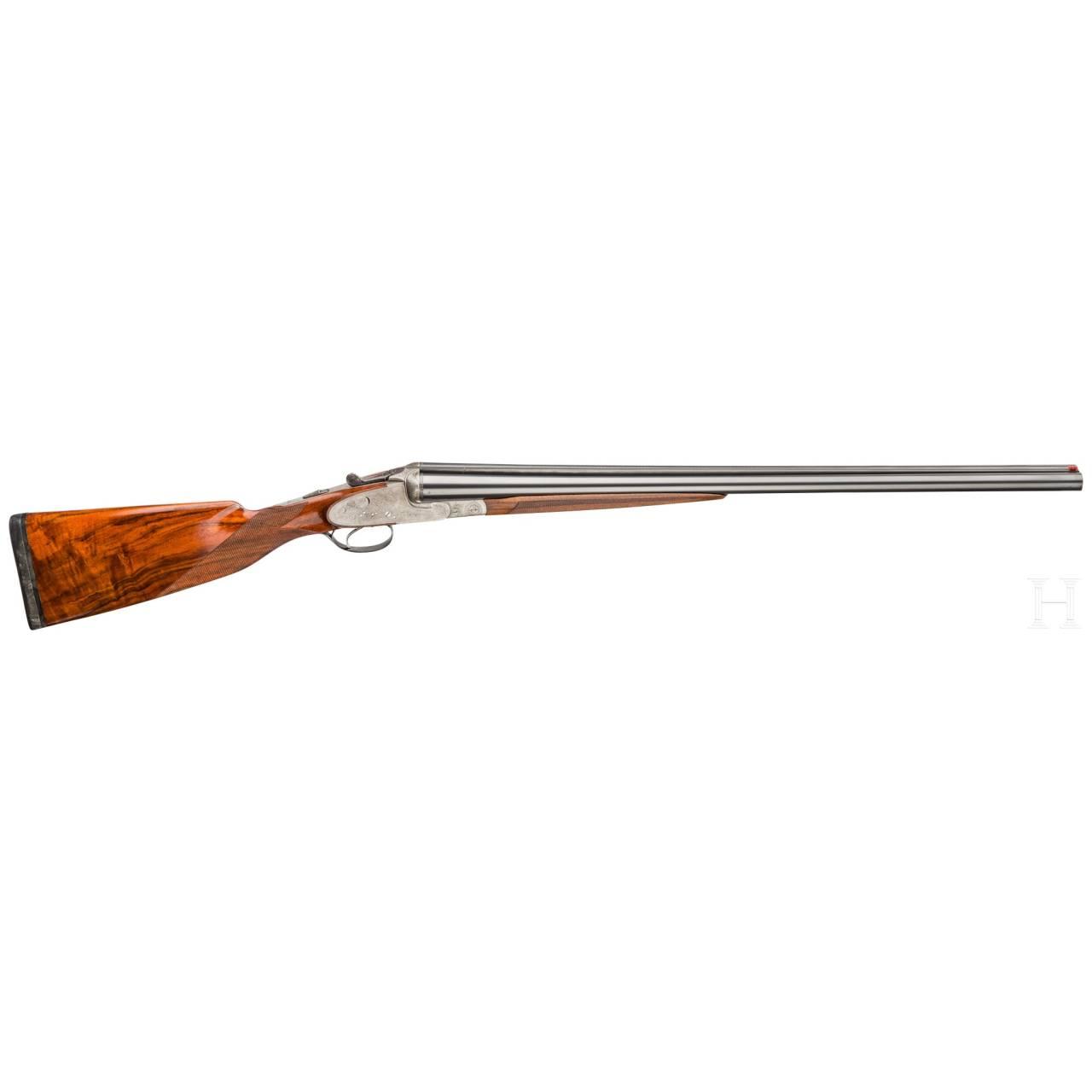 A side-by-side shotgun by Thurner, Benningen