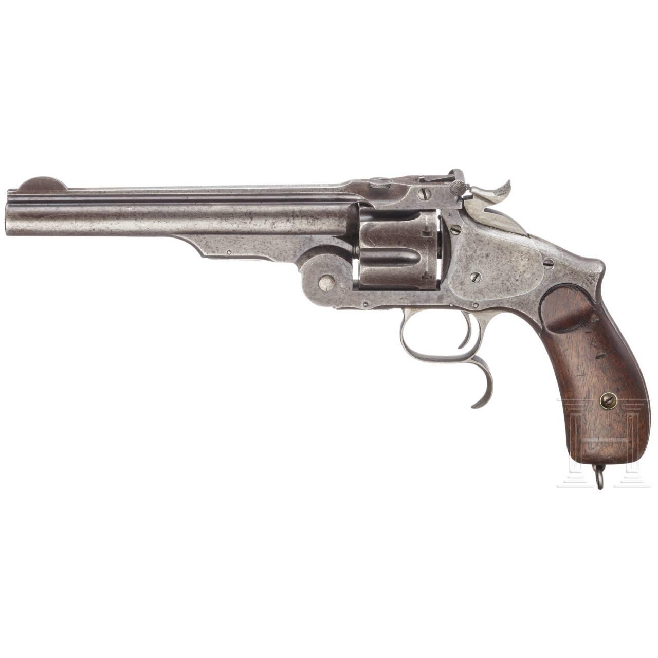 Smith & Wesson No. Three Russian, 3rd Mod. (Mod. 1874), Ludwig Loewe, Berlin