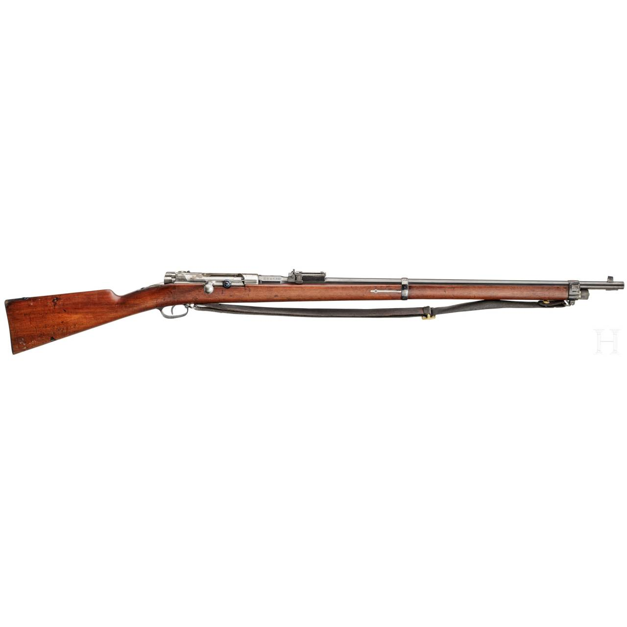 A Mauser Infantry Rifle Model 1887