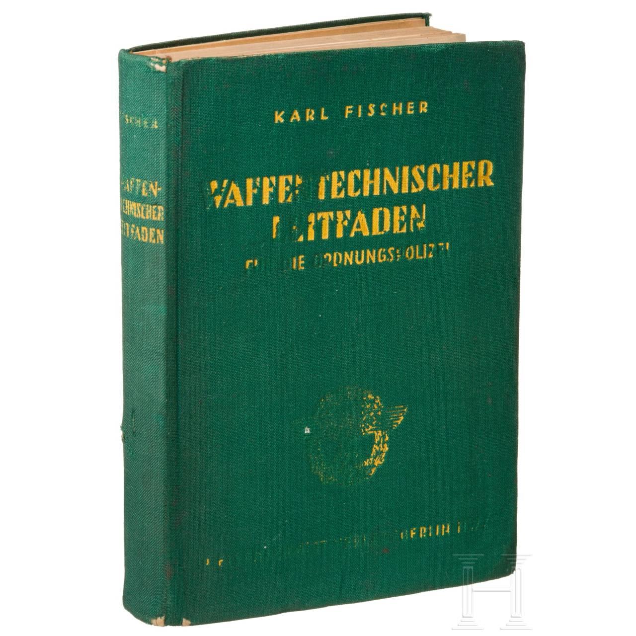 Original handbook on police equipment, 1941 (in German)