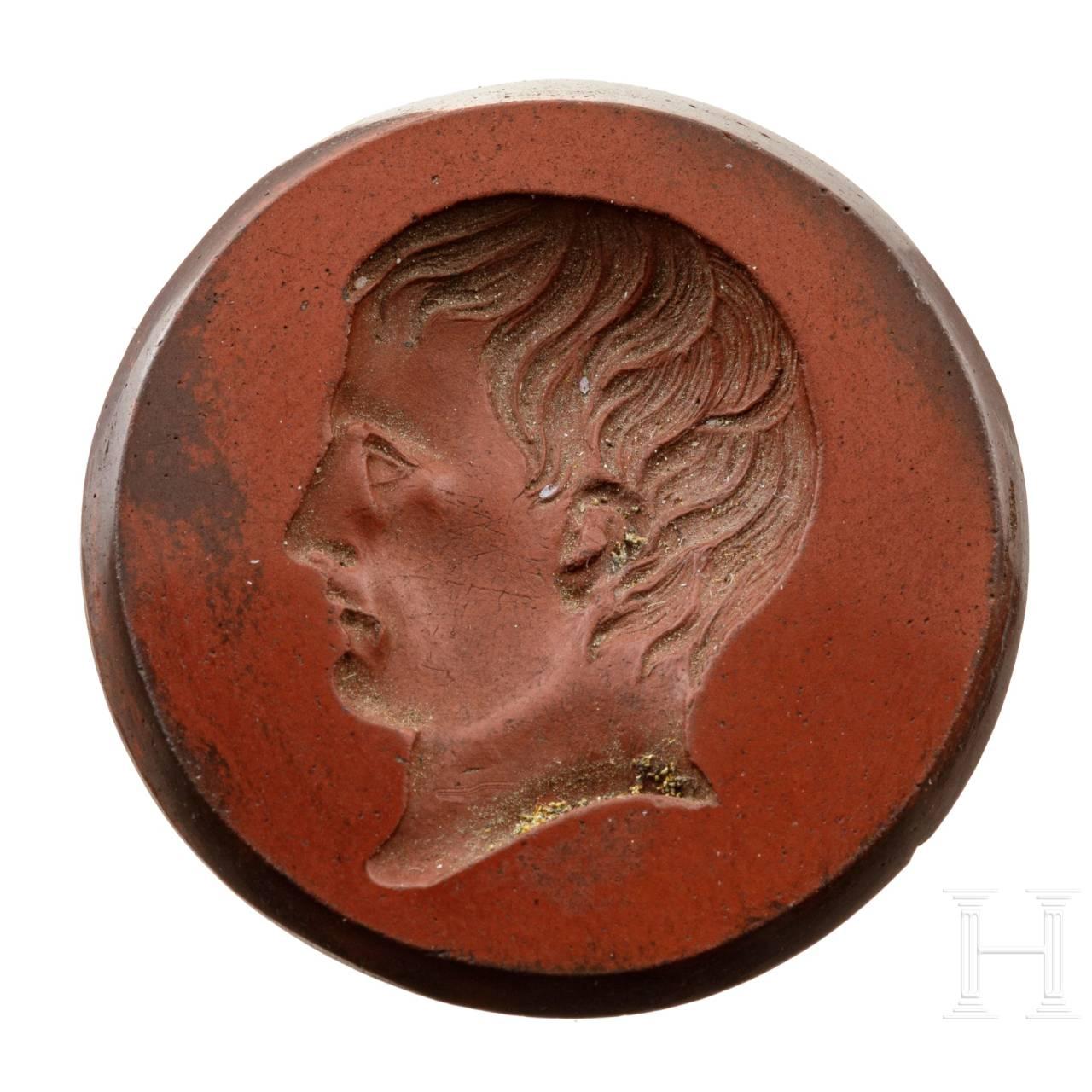 Gemme mit dem Profil von Napoleon Bonaparte, 19. Jhdt.