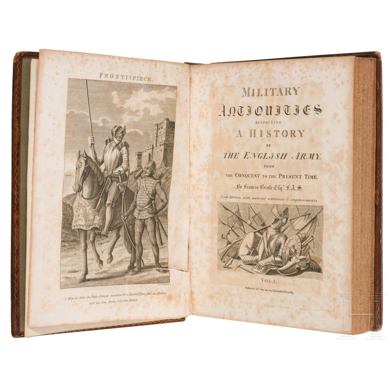 """""""Military Antiquities - Respecting a History of the English Army"""" von Francis Grose"""