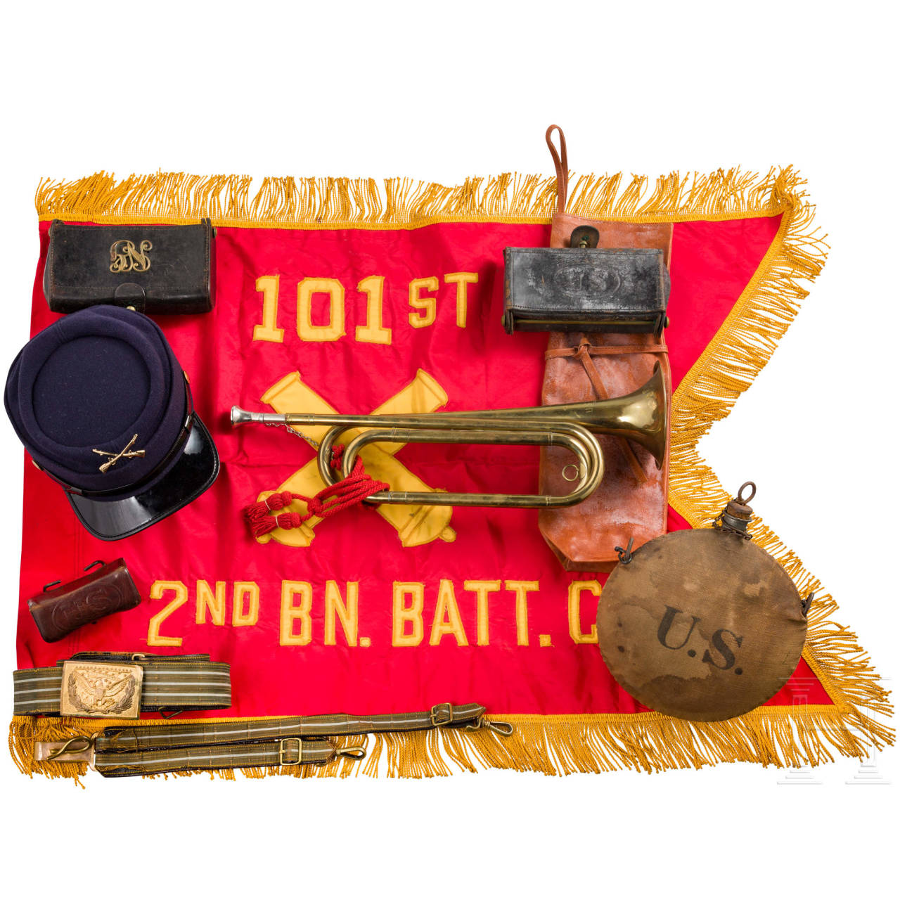 Konvolut US-Militaria, 19./20. Jahrhundert