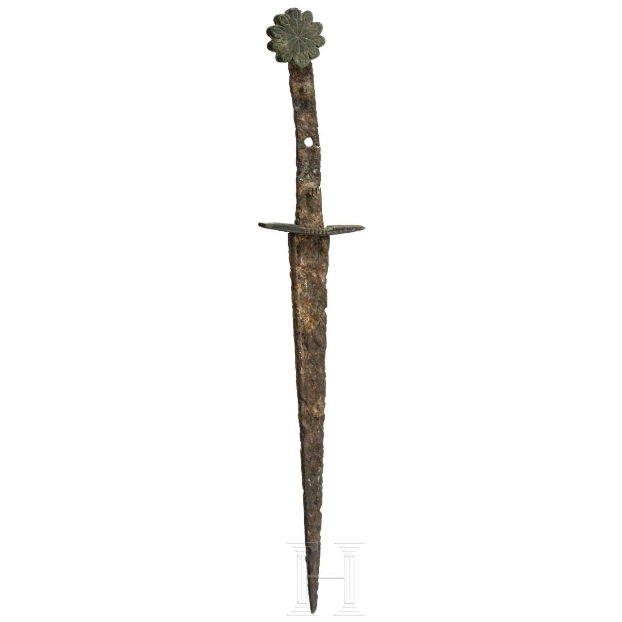 Ritterlicher Dolch, Burgund, um 1350