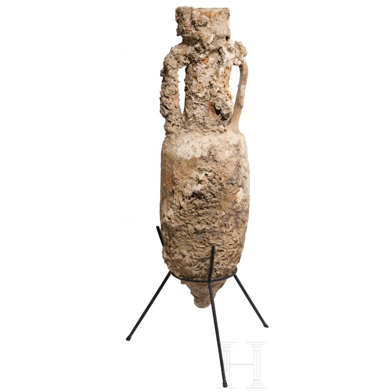 Schlanke Weinamphore, römisch, 1. Jhdt.