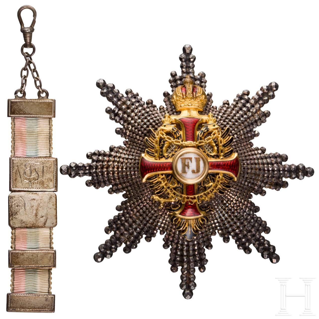 Dr. Otto von Niedner (personal physician of Kaiser Wilhelm II.) - Imperial Austrian Order of Franz Joseph
