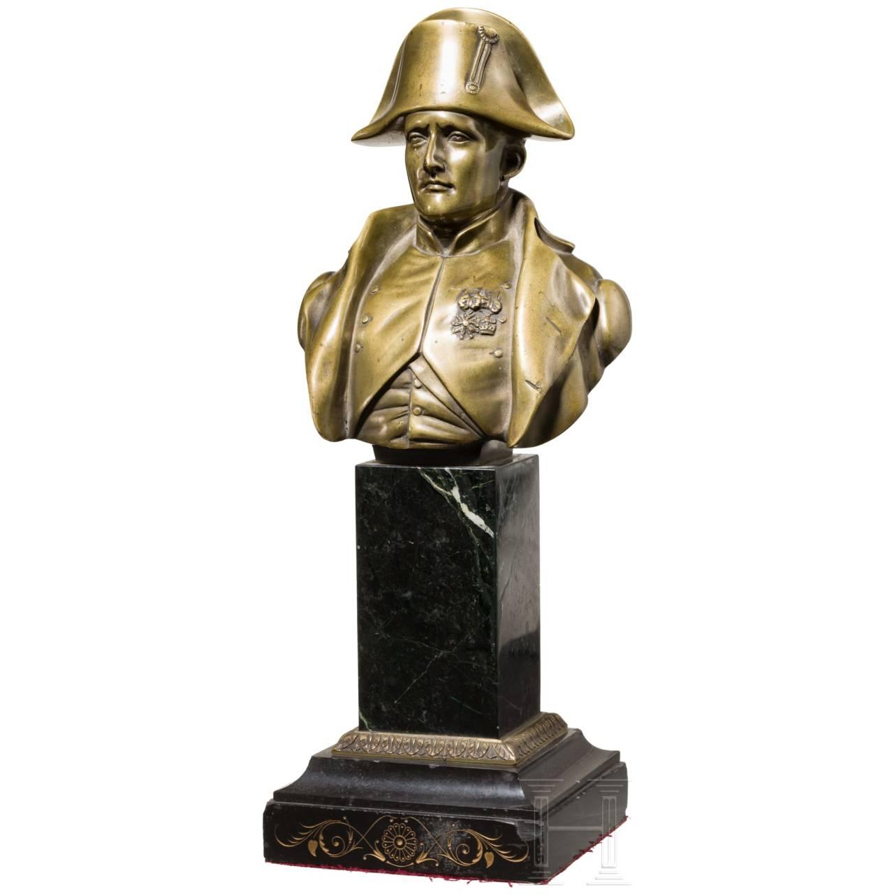 Napoleon I. – Bronzebüste