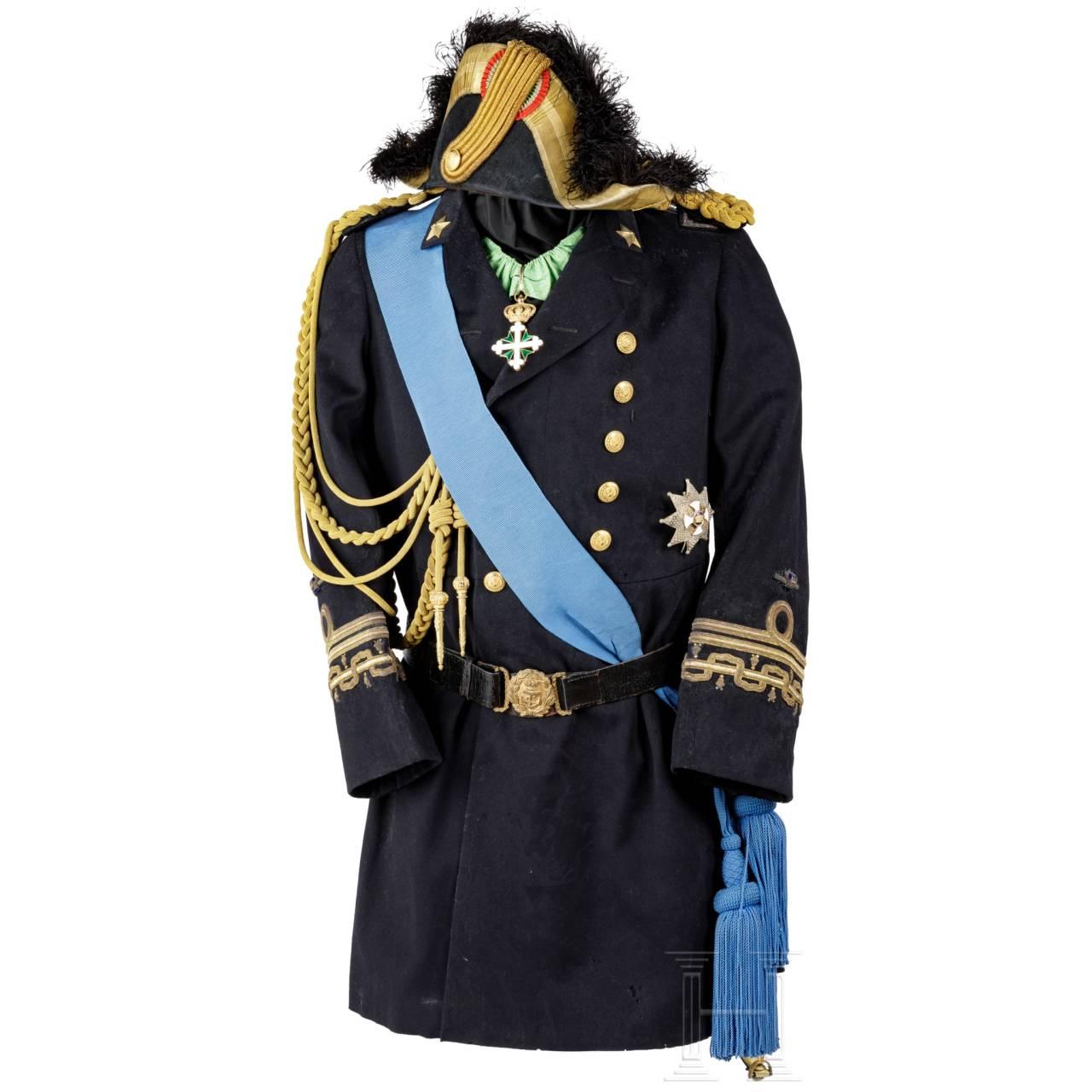 """Paradeuniform von Amero d'Aste (1853 – 1931), Admiral der Königlich Italienischen Marine """"Regia Marina"""""""