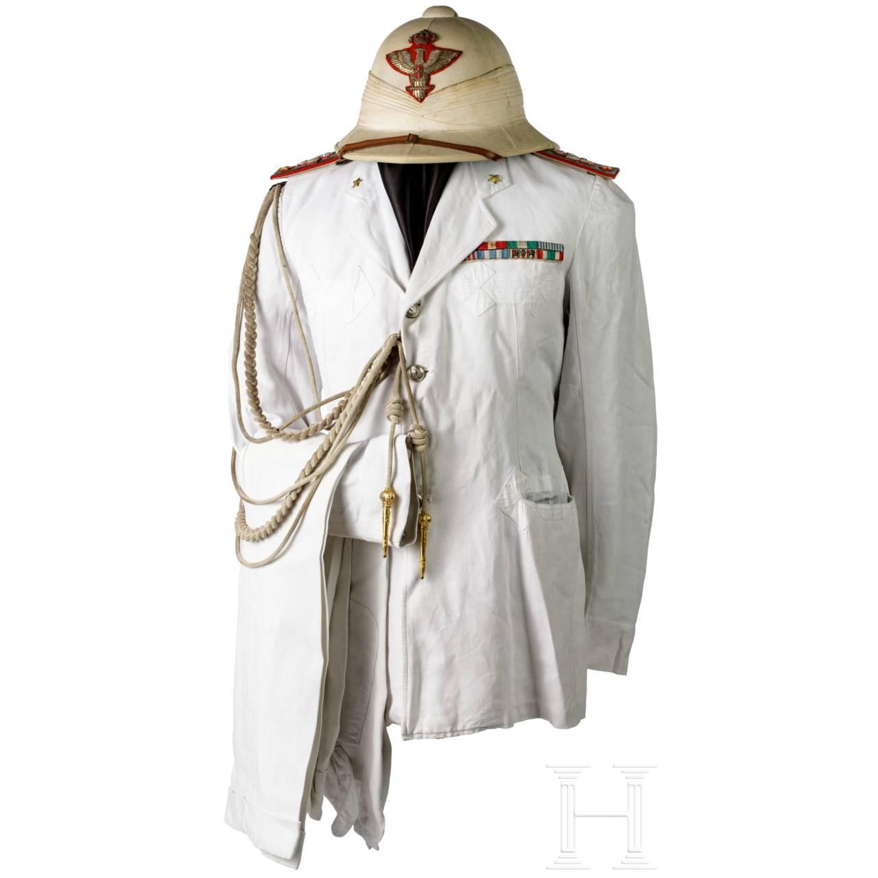 Sommeruniform für einen Generale di Brigata in den Kolonien