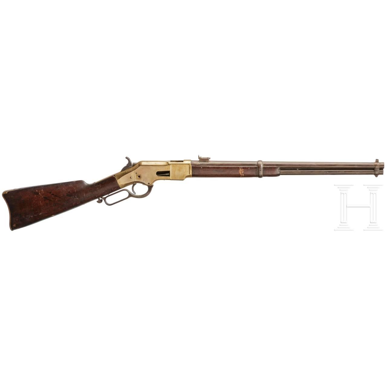 Unterhebelrepetierbüchse Winchester Mod. 1866 Carbine, 3. Modell, Fertigung 1871