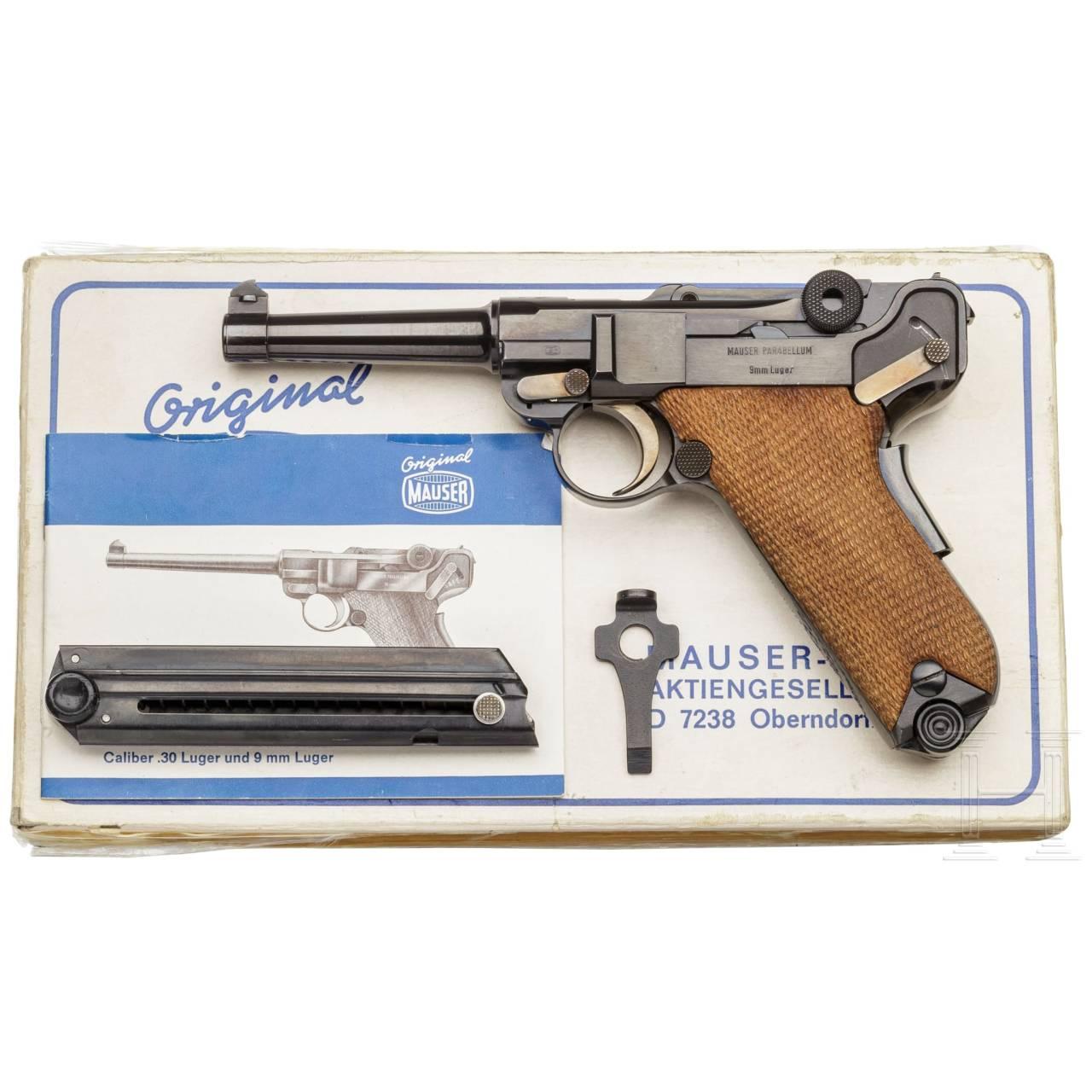 Mauser Parabellum Mod. 29/70, American Eagle, in Box