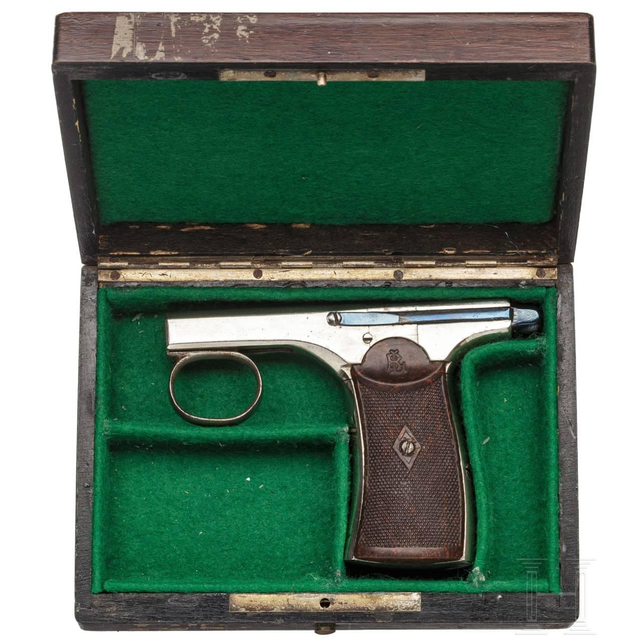 Brun Latrige-Einhandpistole Mod. 1890, Frankreich, um 1895