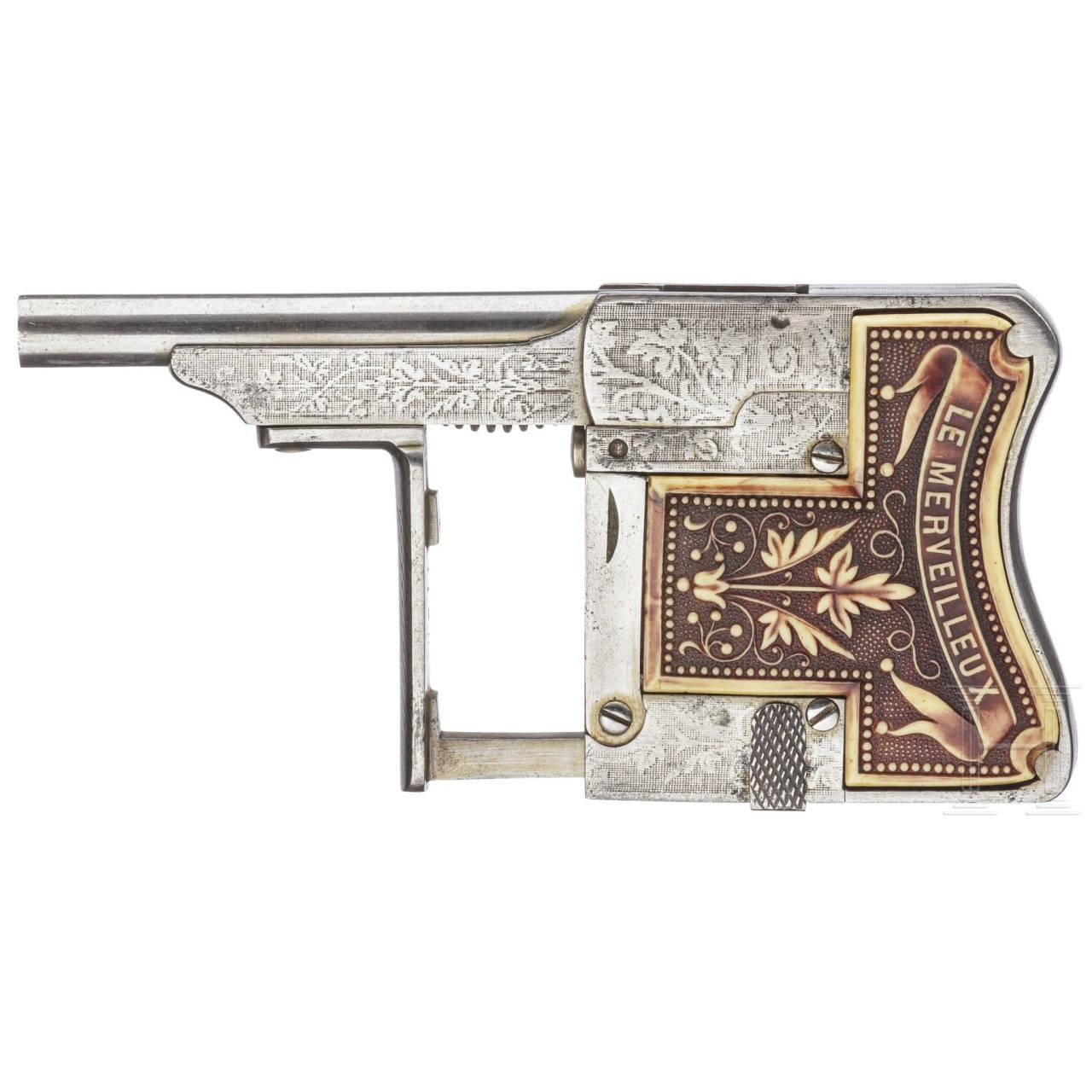 Le Merveilleux-Einhandpistole, Rouchouse & Cie