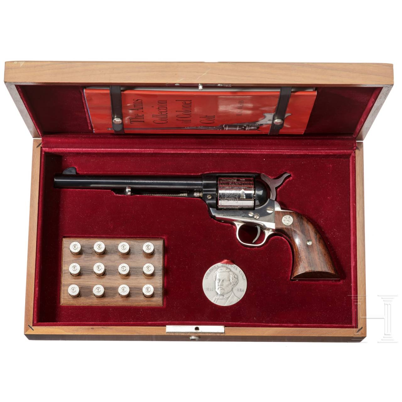 Colt SAA 1873 - Colonel Colt Sesquicentennial 1814 - 1964, in Schatulle