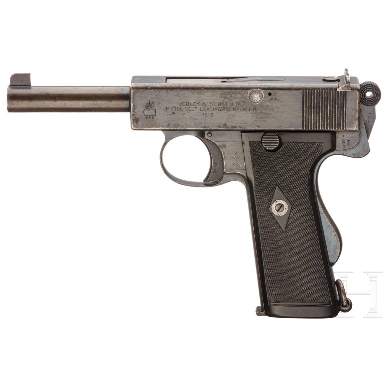 Webley & Scott .455 Mark I N (Navy Model)