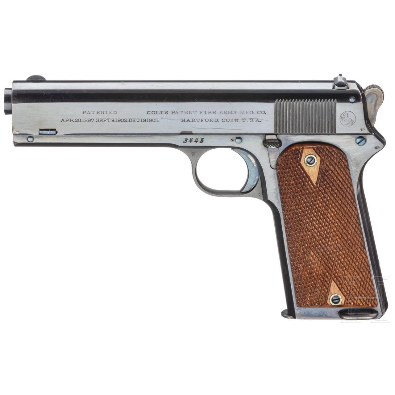 Colt Model 1905 .45 Automatic Pistol, British Contract