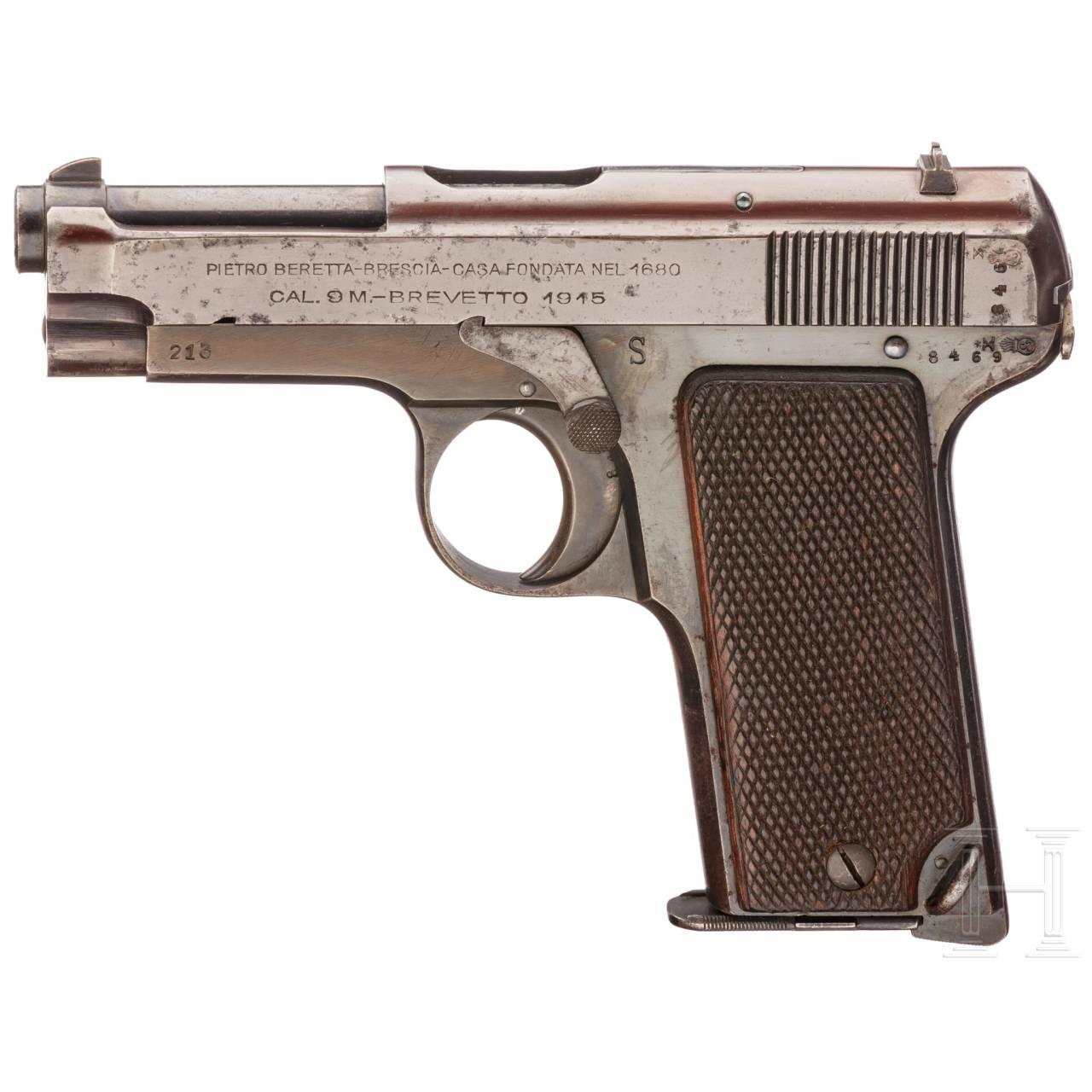 Beretta Mod. 1915, Behörde