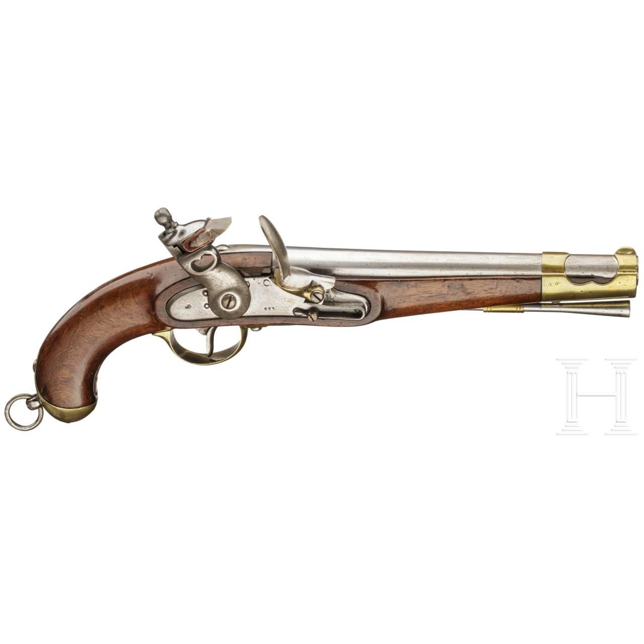 Steinschlosspistole, ähnl. Kavalleriepistole M 1798