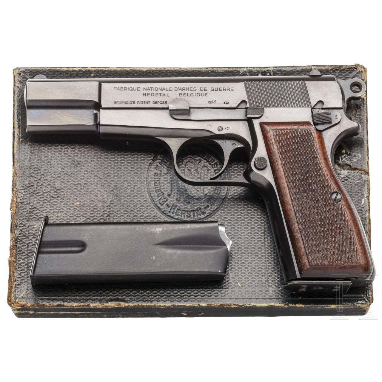 FN HP Mod. 35, Gendarmerie, im Karton