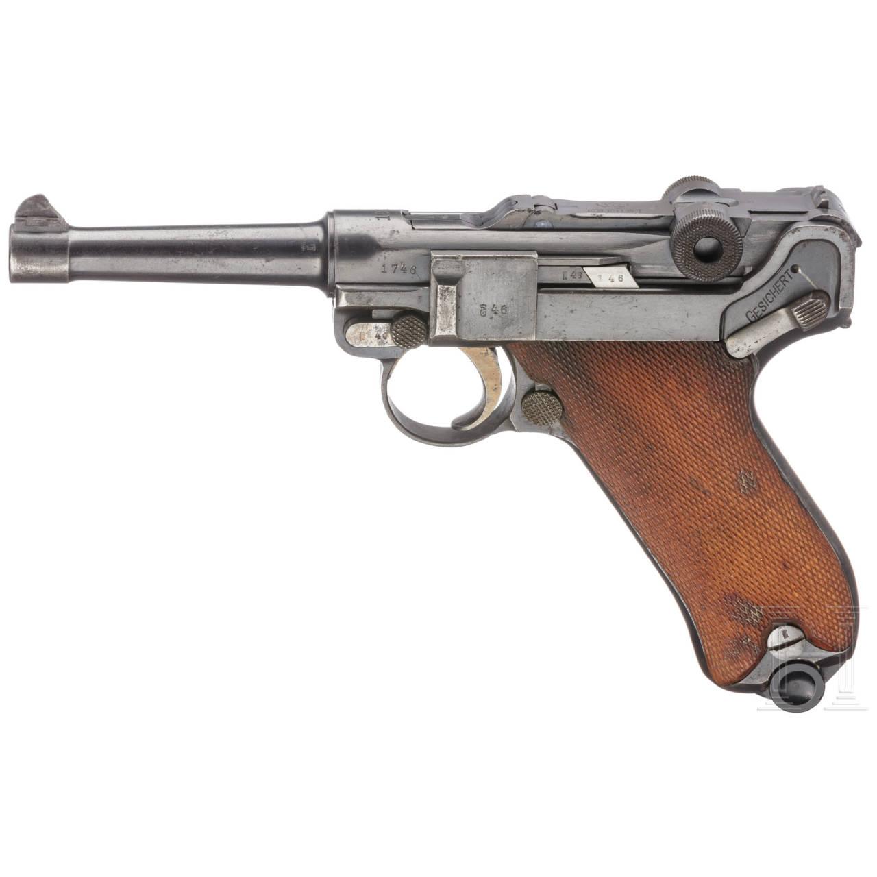 Pistole 08, Erfurt 1913
