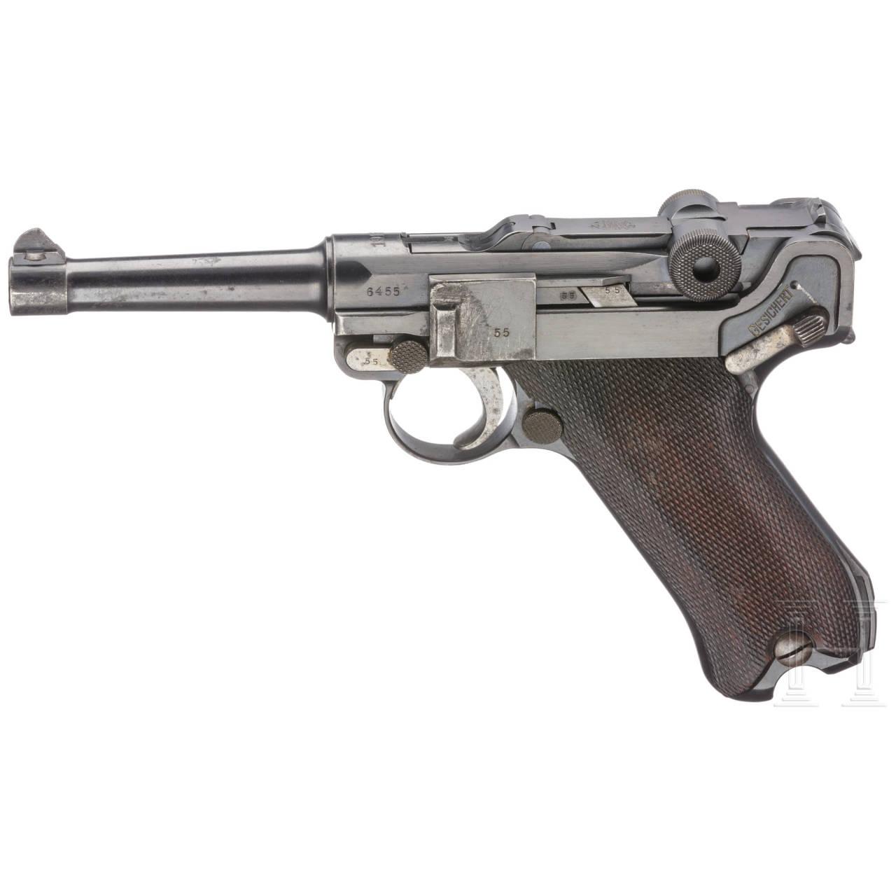 Pistole 08, DWM 1915