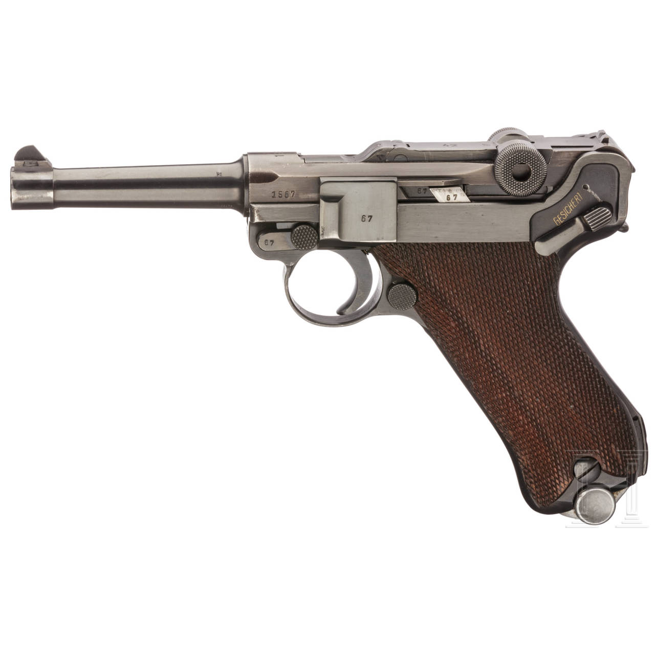 "Pistole 08, Mauser, Code ""1939 - 42"""