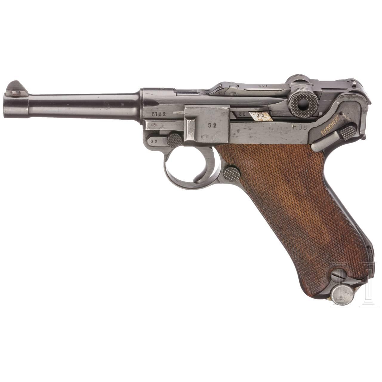 """Pistole 08 Mauser, Code """"byf 42"""""""