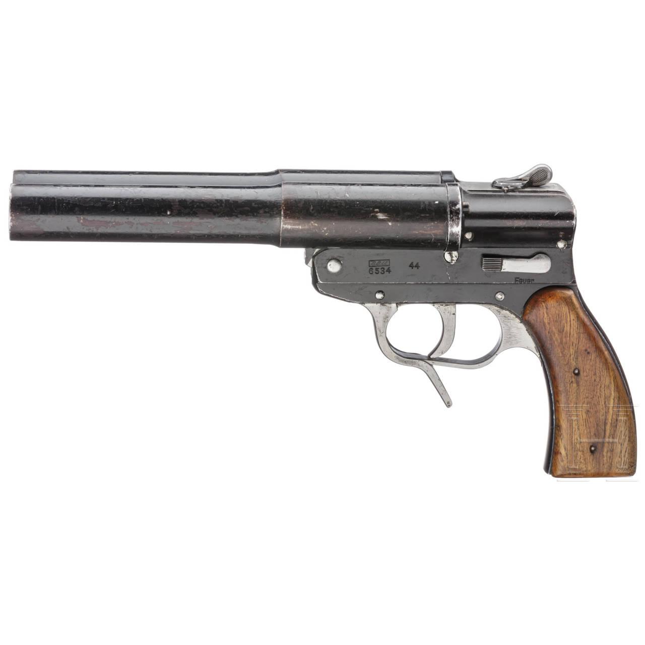 """Doppelläufige Signalpistole Mod. SLd, Code """"eeu - 44"""""""