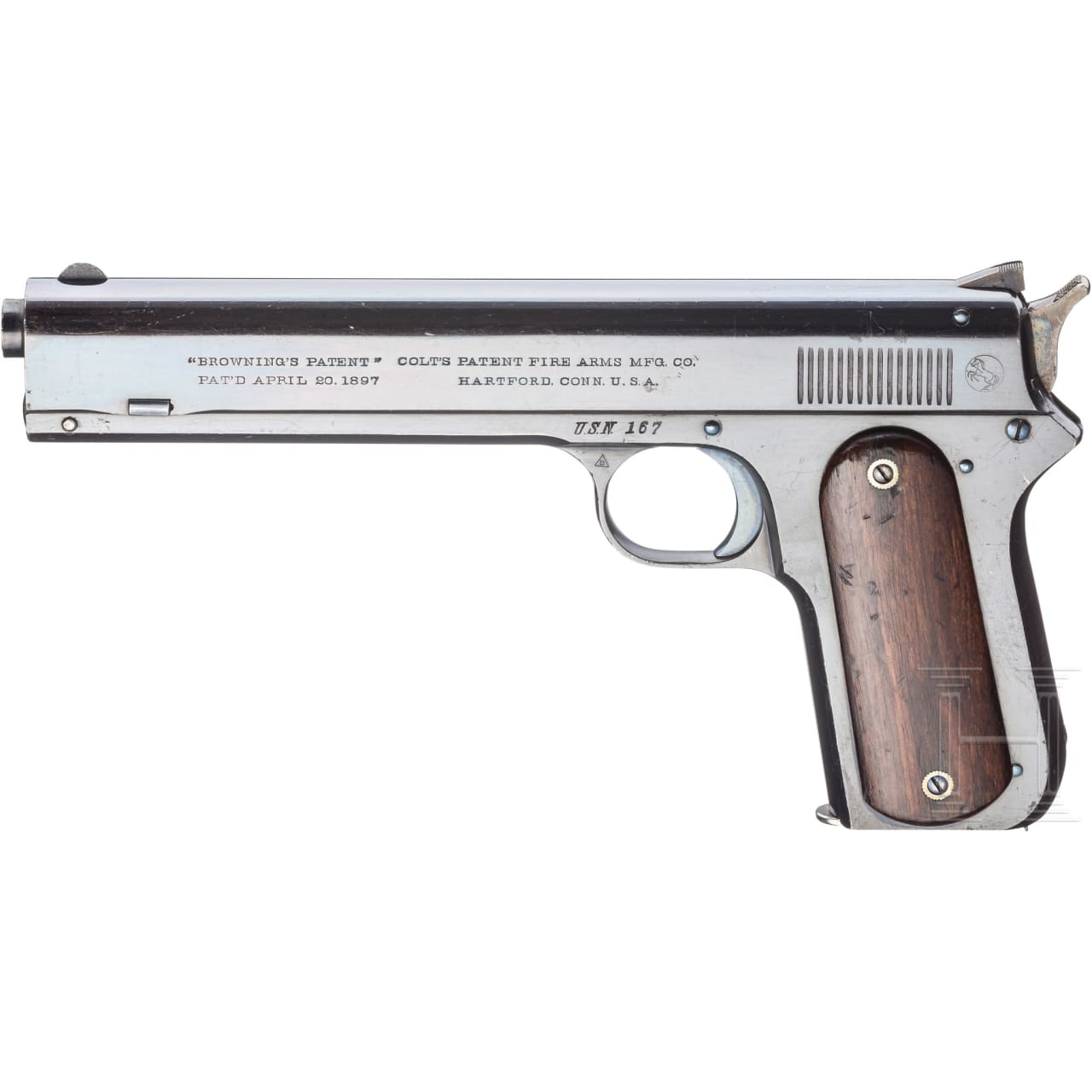 Colt Mod. 1900 Automatic Pistol, Navy Contract, 2. Waffe eines Pärchens