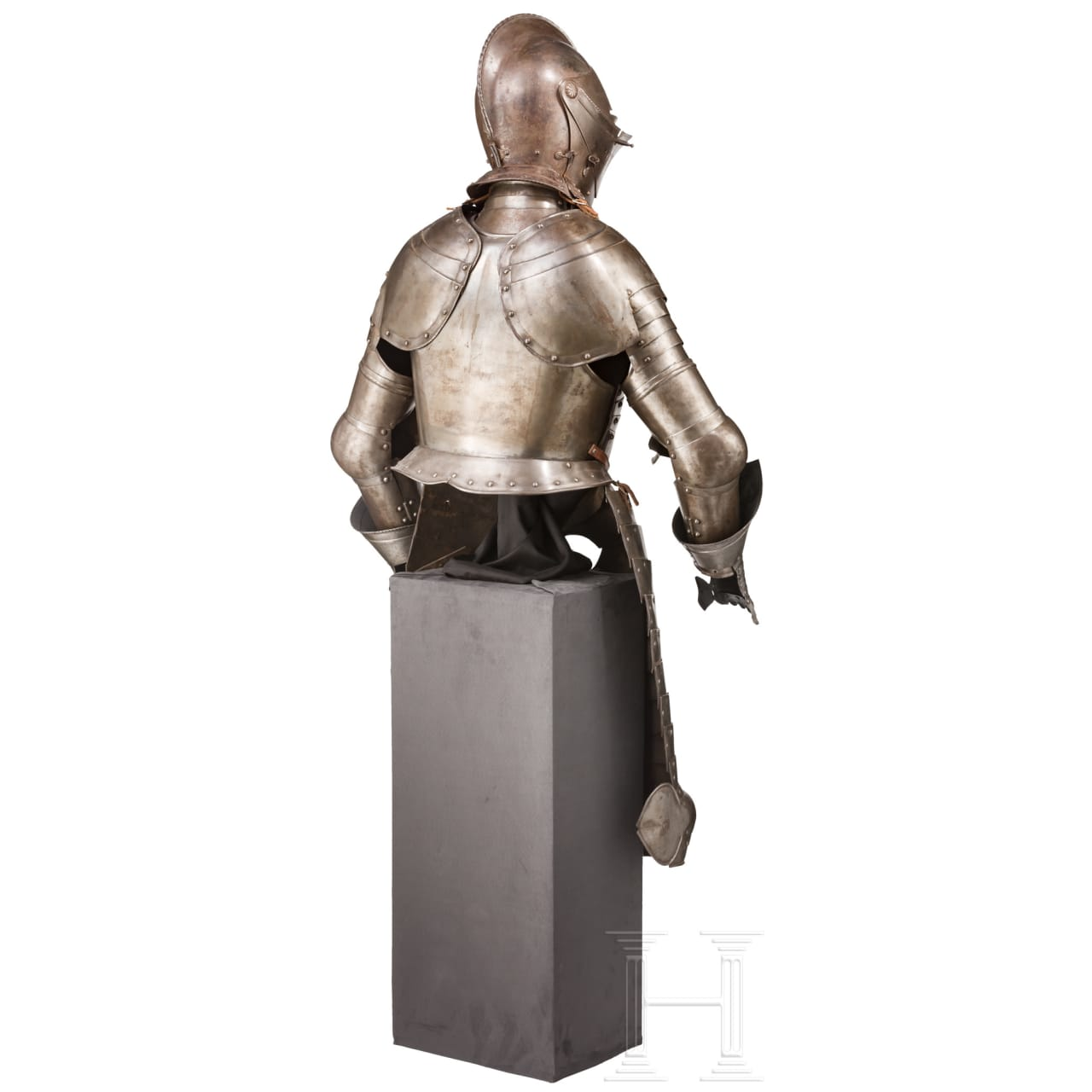 A historicism light cavalry armour in the style of circa 1580, circa 1900