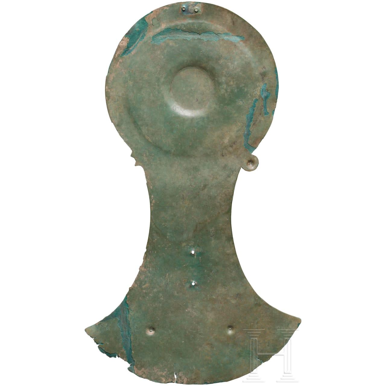 Seltene, bronzene Rossstirn, nördliches Schwarzmeergebiet, 4. Jhdt. v. Chr.