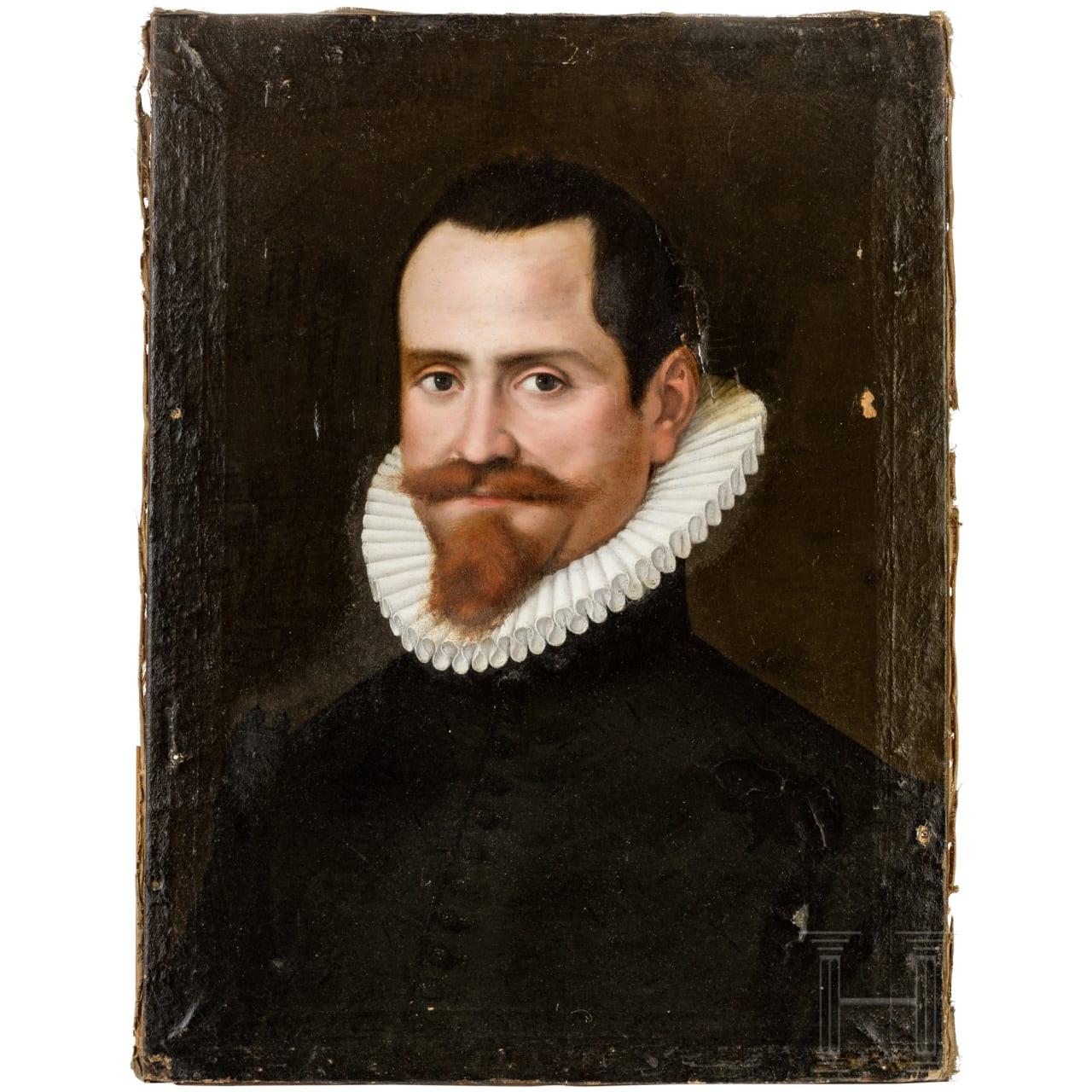 Portrait des Domenico Lucatello, Italien, datiert 1588