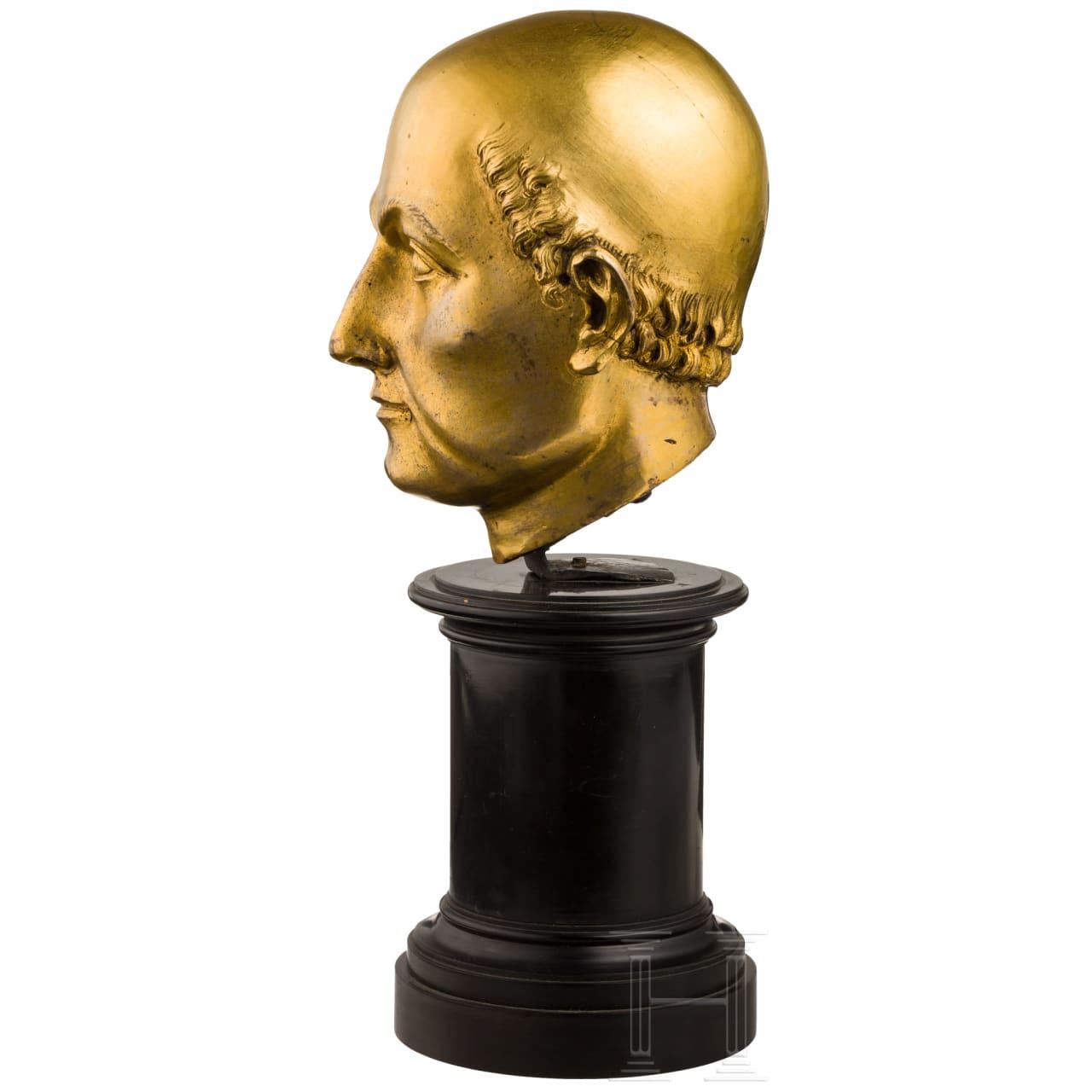 Außergewöhnlicher Renaissance-Kopf eines Heiligen, Italien, frühes 17. Jhdt.