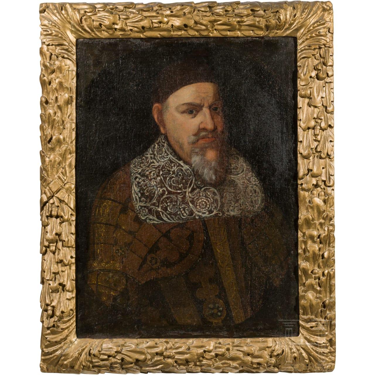 August der Jüngere von Braunschweig-Wolfenbüttel - Portrait im Harnisch, um 1650