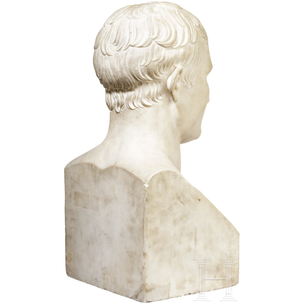 Imposante Büste von Napoléon Bonaparte, Frankreich, frühes 19. Jhdt.
