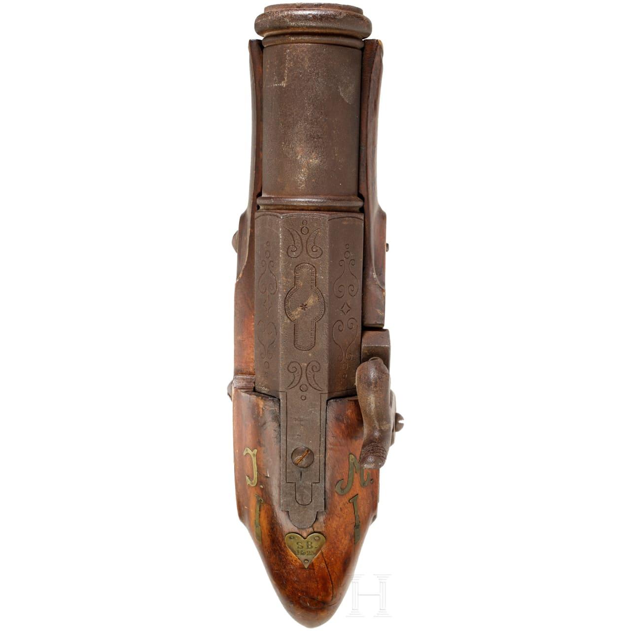 Handböller, süddeutsch, datiert 1925