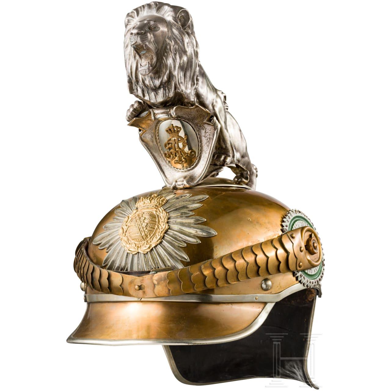 Helm M 1907 für Mannschaften des Gardereiter-Regiments