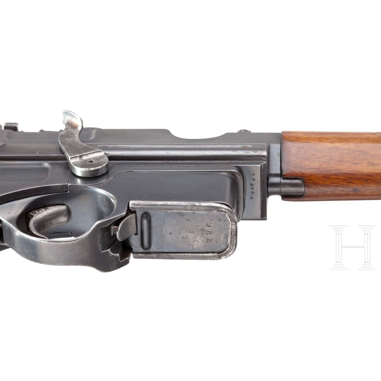 A Mannlicher self-loading pistol carbine mod. 1901