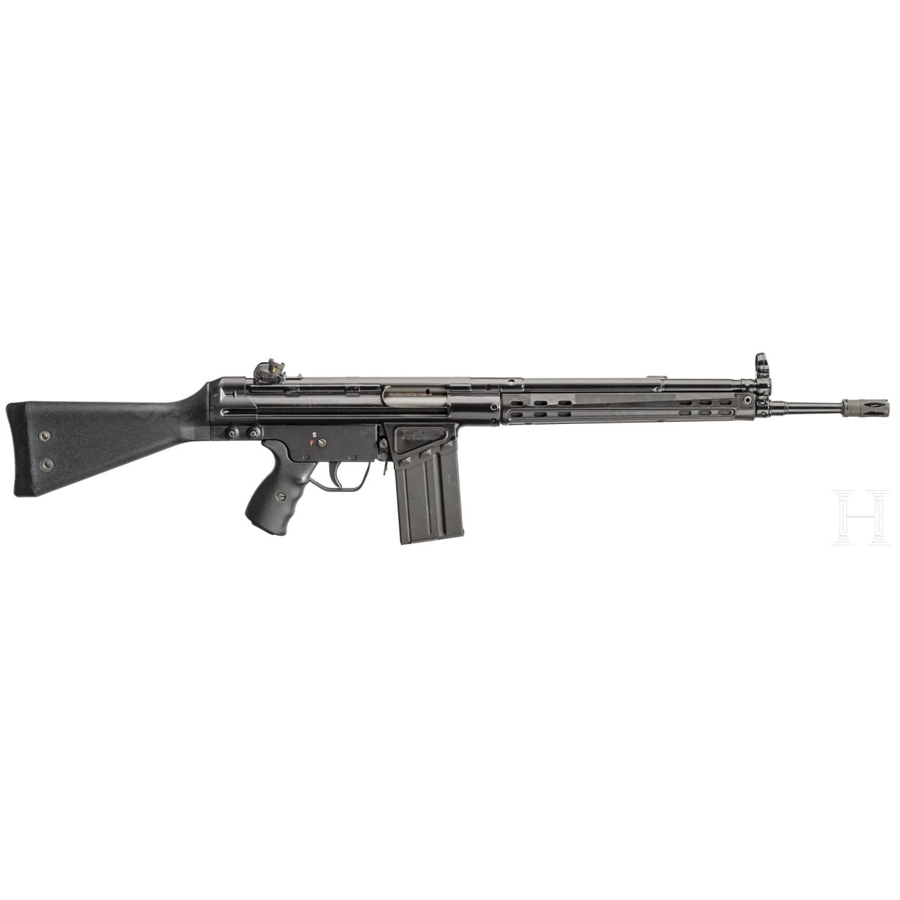 Sabre Defence XR 41 (HK G3 Zivilversion) mit Einschubschaft und ZF Hensoldt