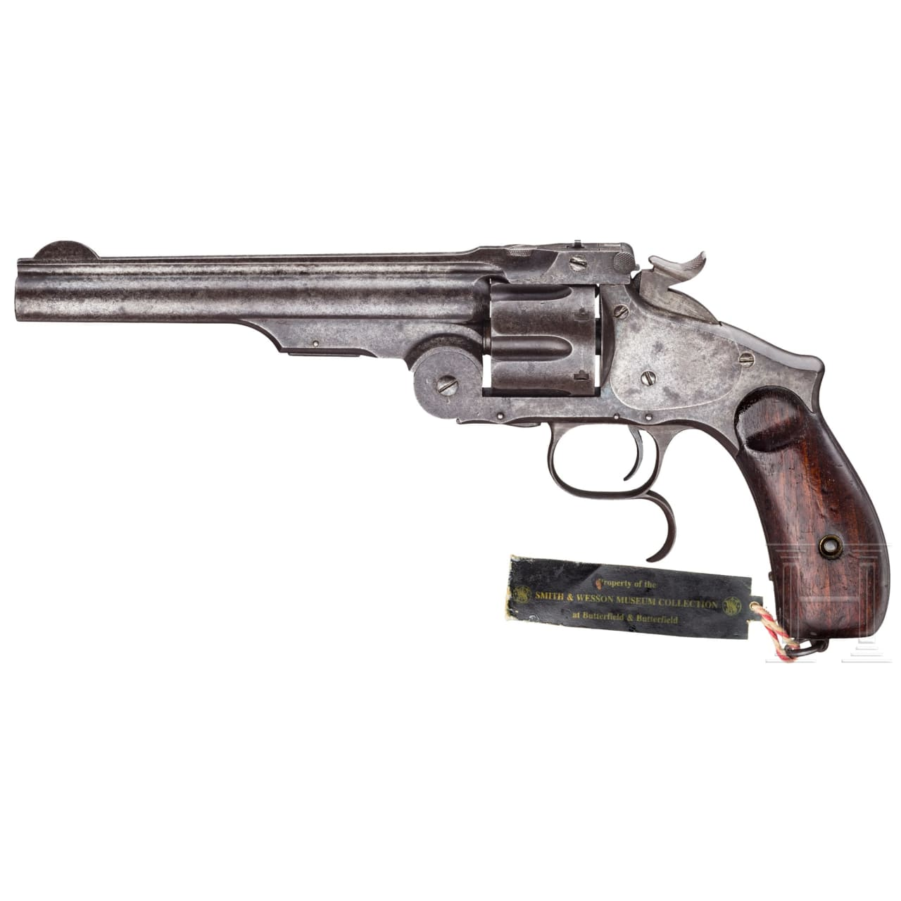 A Smith & Wesson New Model No. 3, Ludwig Loewe, Berlin