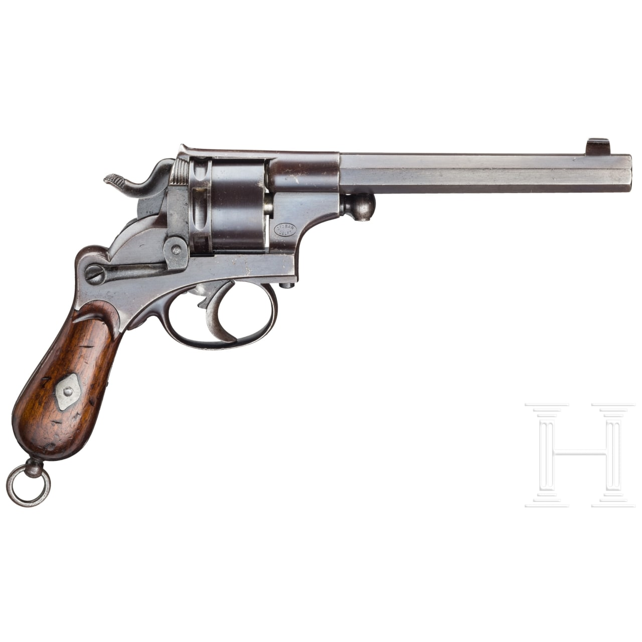A J.F.J. Bar revolver, Delft (reduced version of Mod. 1873)