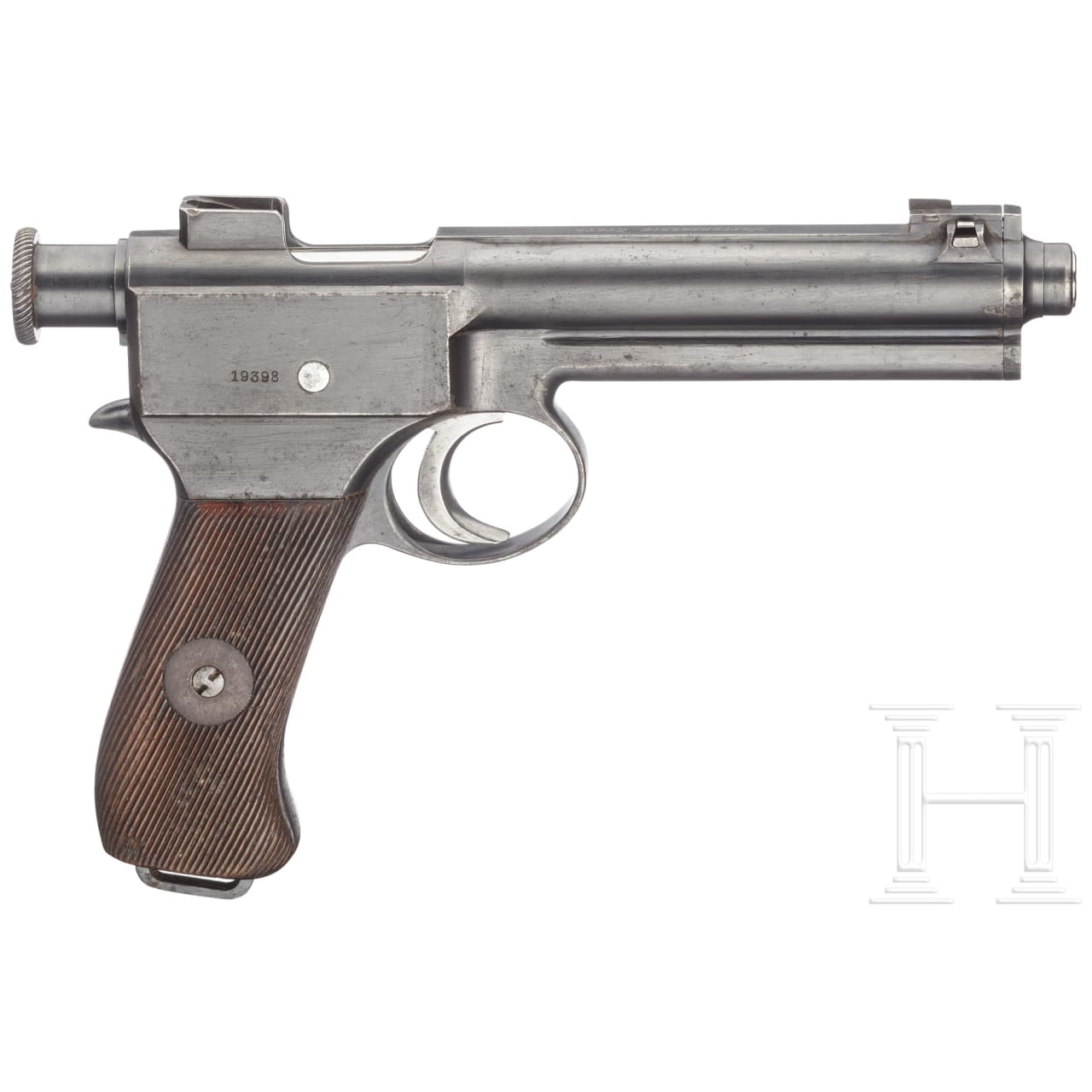 An Austrian Roth-Steyr M1907, with holster and two clips