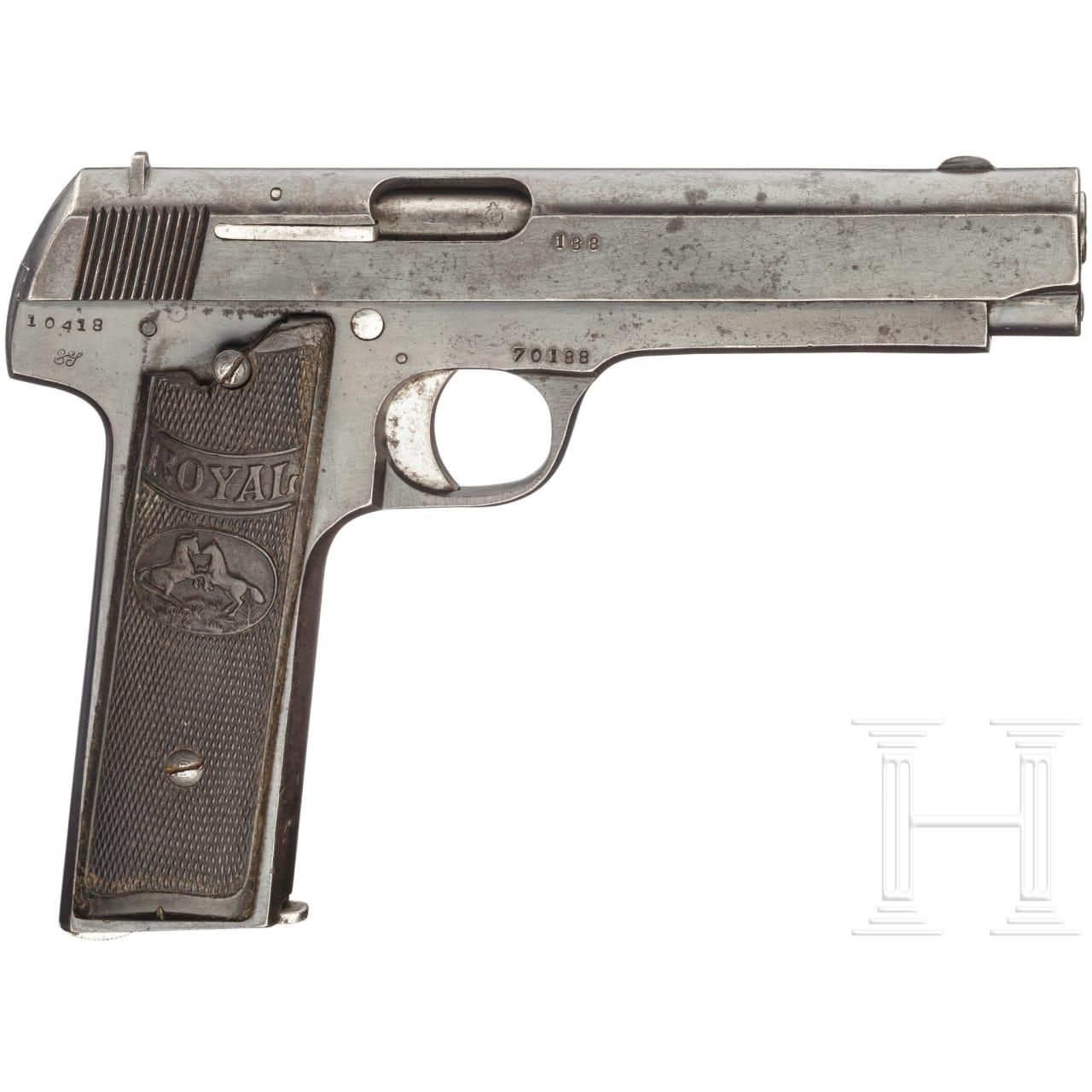 Pistole Royal mit 130mm Lauf