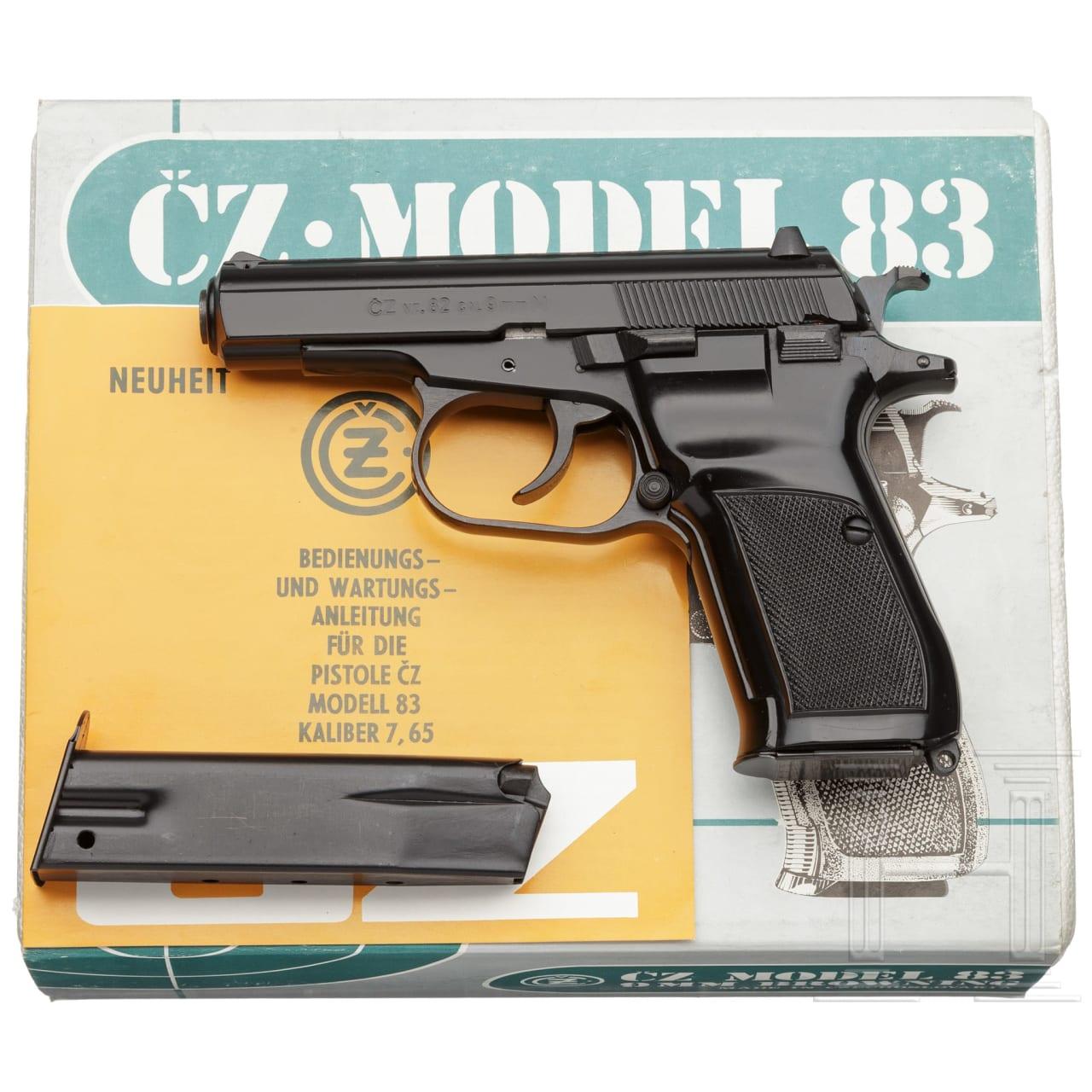 CZ Mod. 82, Ordonnanz Militär und Polizei, im Karton