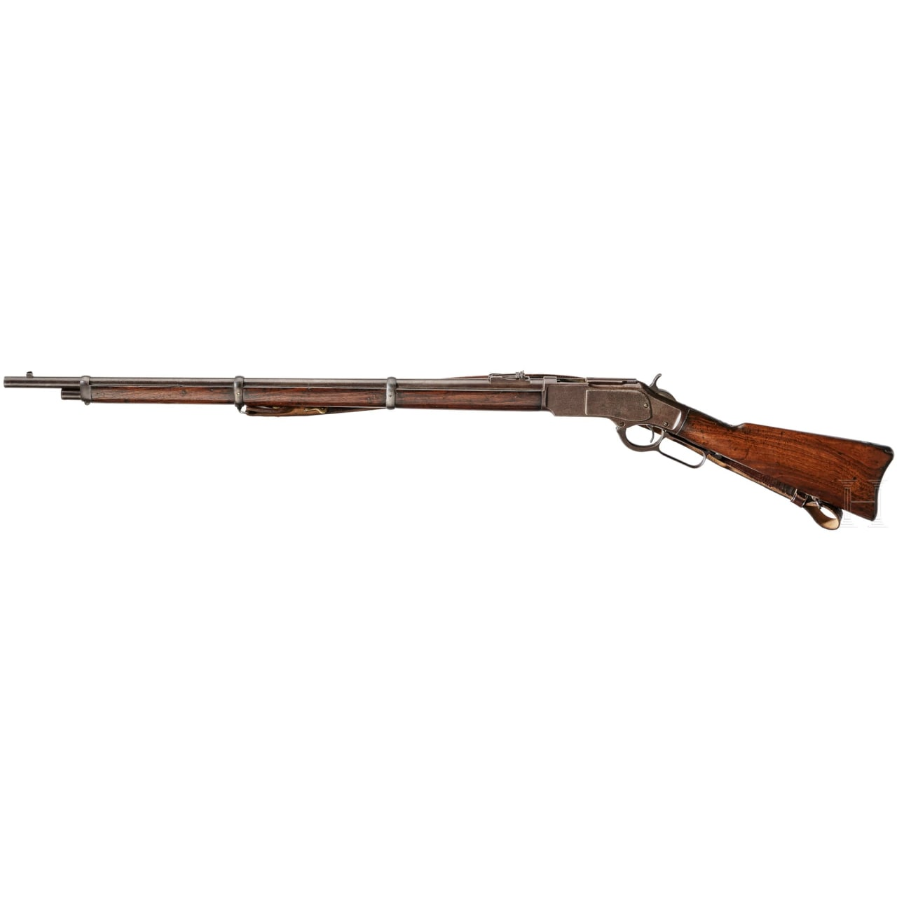 A Winchester Model 1873 Musket